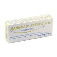 Alfuzosin indikacije za uporabu - Upute