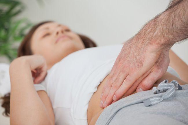 Bolest při močení u žen