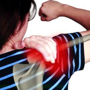 Bolesť ramena s necitlivosť v rukách