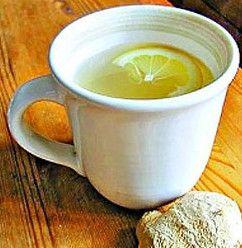 Piti hladno sa đumbirom, limunom i medom