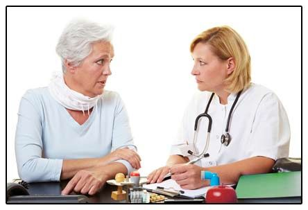 medic și pacient fotografie