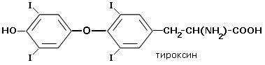 formula tiroxină