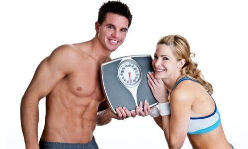 Ideální váha silnějšího pohlaví