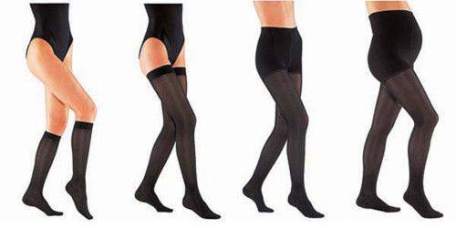 Veličine i vrste čarape za proširene vene
