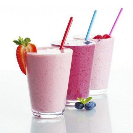 Berry-mliječne smoothies