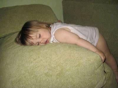 Ospalost u dítěte