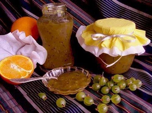 Gooseberries s narančastim