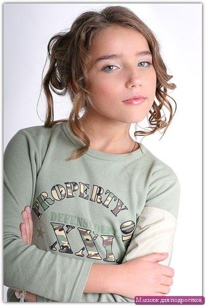 Šminke za adolescenti: Primjer №3
