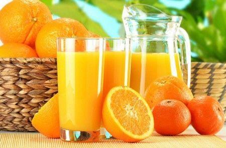 Mandarinka vitamín šťáva
