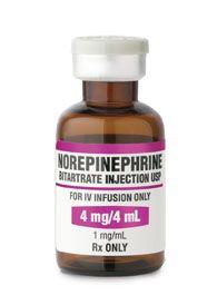 Norepinefrin indikacije za uporabu - Upute