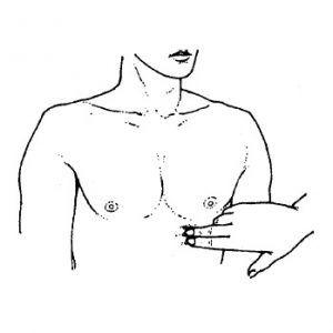 Palpace srdce, apikální a srdečních impulzu: definice normy a patologie