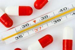 Zvýšení bazální tělesné teploty v průběhu těhotenství
