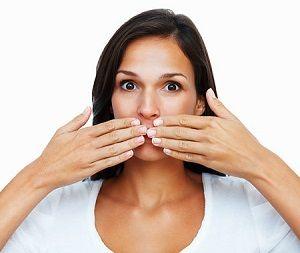 Príčiny zápach z úst