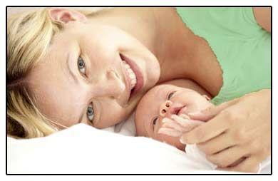femeie cu un copil