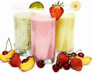 Smoothies doma. recepty