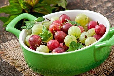 Gooseberries i maline