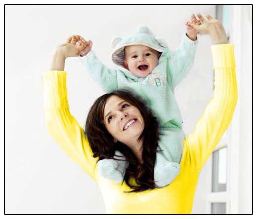 Obrázek - matka a dítě